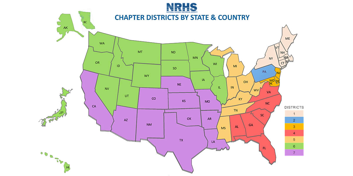 NRHS Districts Map