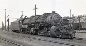 NRHS | Norfolk & Western | Roanoke, VA | Y6a 2-8-8-2 2169 | neg 2210 | July 18, 1951 | R.L. Long