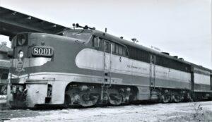NRHS | Missouri Pacific | Brownsville ,TX | PA 8001 PIONEER | Feb 5, 1962 | Arthur B. Johnson | Elmer Kremkow Collection