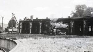 NRHS | Central Vermont | White River Junction, VT | 4-8-2 602 | neg 2250 | Aug. 1956 | R.L. Long