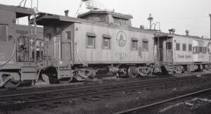 Baltimore and Ohio | Newark, Ohio | Class I-5 caboose #C-1970 | December 1974